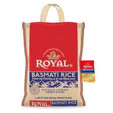royal basmati rice 20 pound bag