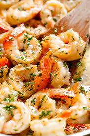 Garlic Butter Shrimp Scampi - Cafe Delites