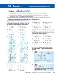 solving special systems of equations