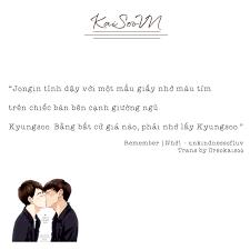 fanfic quotes chuyen mục mới của be exo kaisoo kaid o