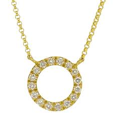 love necklace in 18k yellow gold