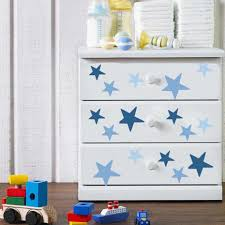 Diy Color Gradient Stars Decal Green Red Grey Blue Wall Sticker Window Decoration For House Nursery Baby Room Christmas Gift Art Wall Stickers Aliexpress