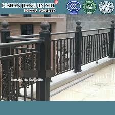 China Modern Wall Aluminum Fence Design Galvanized Swimming Pool Fence Garden Security Iron China Decorative Aluminium Fence Guardrail