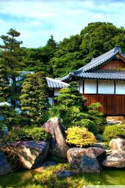 zen garden wallpaper or japanese garden