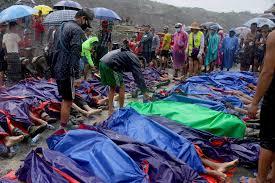 Landslide at Myanmar jade mine that ...