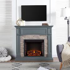 inch electric fireplace mantel
