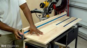 3 In One Diy Miter Saw Station Diy Creators