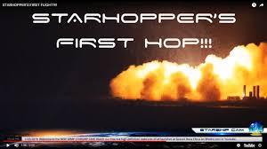STARHOPPER'S FIRST HISTORIC HOP ...
