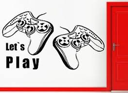 Wall Stickers Vinyl Decal Video Games Let S Play Playstation Decor Z2215 Ebay