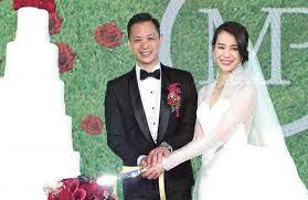 Celebrity Weddings: Myolie Wu and Philip Lee | JayneStars.com