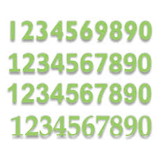 Cyo Rf01 Reflective Numbers And Letters Safety Signs Nz