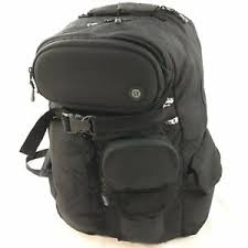 backpack hiking daypack black nylon