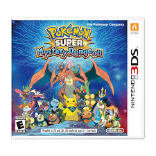 Official Pokémon Mystery Dungeon Video Game for the Nintendo 3DS family of  systems. With dungeon layout… | Pokemon super, Pokémon super mystery  dungeon, 3ds pokemon