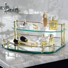 belmont two tier vanity tray vanity