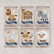Farm Nursery Baby Animals Farm Animals Cowboy Etsy Farm Animal Nursery Baby Animal Nursery Farm Animal Nursery Decor