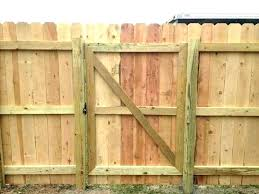 making a wood fence gate mycoffeepot org