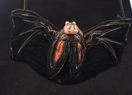 VNGT Priscilla Snyder Hand Made Embroidered Bat Purse Halloween   Purses,  Antique art deco, Grey floral