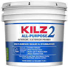 Kilz 2 Interior Exterior Multi Purpose Water Based Wall And Ceiling Primer Trial Size In The Primer Department At Lowes Com