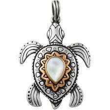 james avery sea turtle pendant with