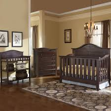 Thomasville 3 Piece Nursery Set Southern Dunes Lifestyle Crib Dressing Table And Avalon 5 Drawer Dresser In Espresso Free Shipping