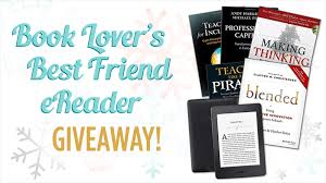 win a kindle preloaded with books a