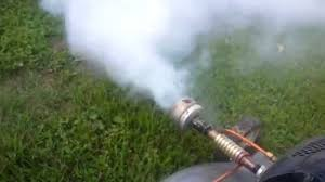 lawn mower fogger diy homemade with