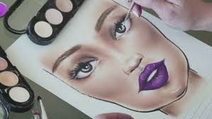face charts for any makeup look that