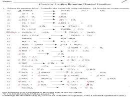 balancing chemical equations gizmo