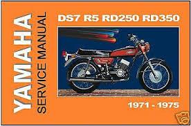 manual rd350 rd250 rd350b rd250b 1975