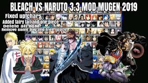 Bleach VS Naruto 3.3 MOD MUGEN 2020 {DOWNLOAD} - YouTube
