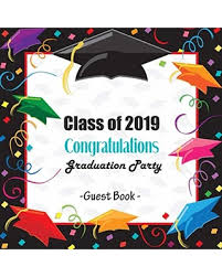 deals on class of congratulations graduation party guest book