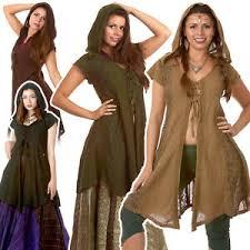 lace witch jacket dress hooded boho