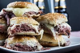roast beef sliders with horseradish