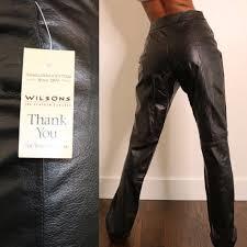 deadstock 90s leather pants vintage