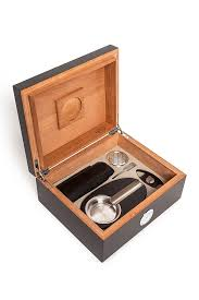 brouk co cigar humidor gift set