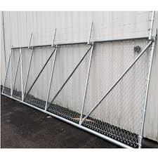 Hoover Fence Chain Link Fence Steel Cantilever Slide Gates Hoover Fence Co