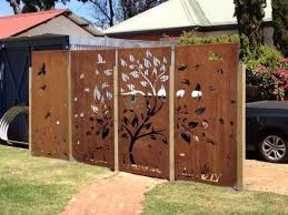 customized garden use fence metal