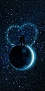 خلفيات الحب تحت ضوء القمر خلفيات موبايل