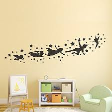 Peter Pan Shadow Wall Decal Removable Vi Buy Online In Andorra At Desertcart