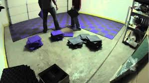 how to install garage tiles you