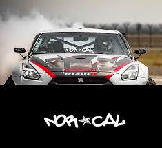 Norcal California Bay Area Street Racing Jdm Cali Car Decal Window Vinyl Sticker