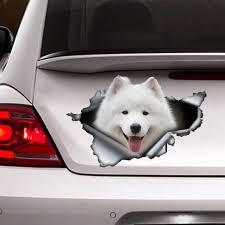 Samoyed Sticker Samoyed Car Decal Pet Decal Dog Sticker Etsy