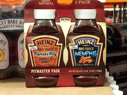 heinz bbq sauce variety 65 5 ounce pack