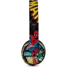 Marvel Comics Spiderman Beats Solo 3 Wireless Skin Marvel