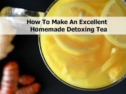 make an excellent homemade detoxing tea
