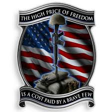 High Price Of Freedom Decal Military Republic