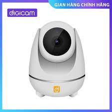 Camera Giám Sát Thông Minh Cao Cấp Digicam D1080P Quay quét 355 độ | Cảm  biến Sony | Led hồng ngoại ẩn