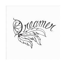 Dreamer Dream Catcher Vinyl Wall Decal Vicious Vinyl Online Store Powered By Storenvy