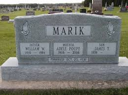 POUPE MARIK, ADELE - Howard County, Iowa | ADELE POUPE MARIK - Iowa  Gravestone Photos