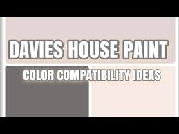 wall paint color combination davies